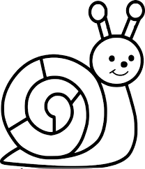 Coloriage Escargot Maternelle Imprimer
