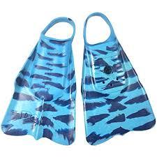 Dafin Swim Fins All Colors And Sizes Lt Blue Navy Zak Noyle Medium Large 9 10