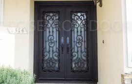 wrought iron front doorsCustom Entry Iron Doors Wrought Iron Gates  Garage Doors