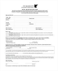 Magnificent Sports Registration Form Template Ensign - Example ...