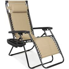 Folding Zero Gravity Recliner Lounge Chair With Canopy Shade ...