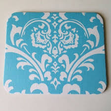 damask office accessories. Light Sky Blue \u0026 White Damask Mouse Pad High Quality Office Desk Decor Accessories