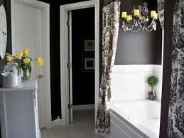 Gorgeous Black And White Bathroom Decor Ideas HGTV Pictures Of ...