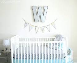 aqua nursery wall decor baby bedding australia c