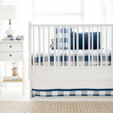 buffalo plaid crib bedding set