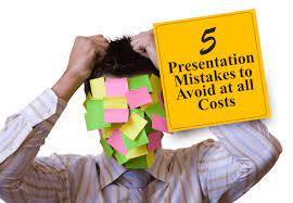 Visual Presentations: 5 Mistakes to Avoid at all Costs