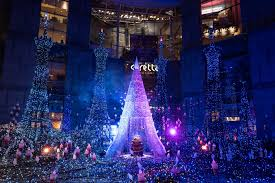 Shiodome Christmas Lights Japanese Christmas Illumination Shiodome Caretta Blog
