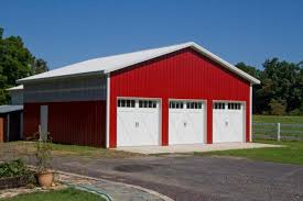 pole barn metal siding. The History Of Steel Siding An Example Pole-barn Construction Using (photo From MerchantCircle.com Pole Barn Metal S