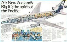 New Zealand Aviation Charts Air New Zealand Dc 10 Cutaway Air New Zealand Australian