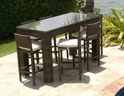 Outdoor Bar Table And Stools Chairs Perth High Top Tall
