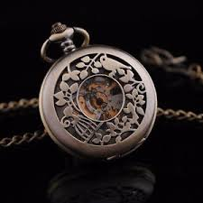 brass hollow bird cage skeleton vintage r dial wind up pocket image is loading brass hollow bird cage skeleton vintage r dial