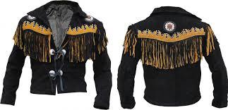 leather jacket fringe bones mens jhf zoom helmet