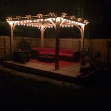lighting a pergola. Different Lighting Ideas To Consider For Your Pergola A