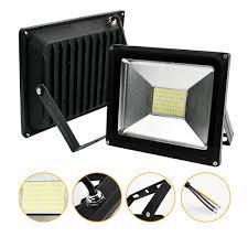 ĐÈN Pha LED 50W 30W 20W 10W Siêu Mỏng Đèn LED Chiếu Điểm Ngoài Trời 220V IP65  đèn Tường Ngoài Trời LED Rọi|Đèn Pha