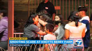 Shooting outside Knott's Berry Farm in ...