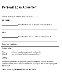 Simple Collateral Loan Agreement Template Or Sample Contract