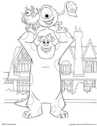 Small Picture Monsters University Coloring Pages Free Printable Coloring Pages