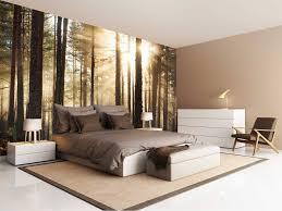 Fotobehang Bos Zonsopgang Walldesign56com