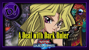 oh yeah a deal with dark ruler is an archfiend ytdan yu gi oh duel links