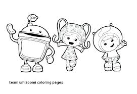 Team Umizoomi Christmas Coloring Pages With Luxury Free Flower