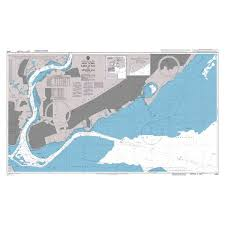 Admiralty Chart 3458 New York Raritan Bay To Arthur Kill