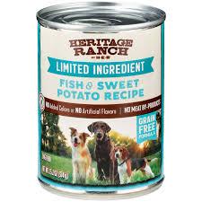 Fish & Sweet Potato Recipe Wet Dog Food ...
