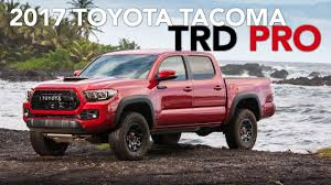 2017 Toyota Tacoma TRD Pro Review - YouTube