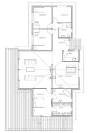 small house plan ch192 with vaulted ceiling small home
