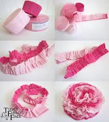Make Crepe Paper Flower Sweet Crepe Paper Flowers Love Is In The Details