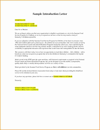 Writing A Business Introduction Letter Gallery Letter Examples Ideas