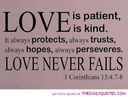 quotes about love in the bible