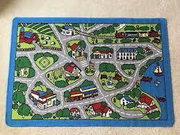 children s play mat city map design area rug 39 x 58 baby