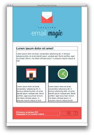Two Column Responsive Design Build An Html Email Template From Scratch
