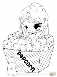Coloring Pages Printable Anime Coloring Pagesn Girl Dolls Awesome