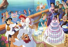 Small Picture Disney Princess images Ariel and Erics Wedding 11 HD wallpaper