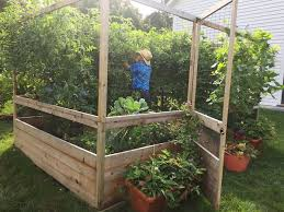 deer proof garden. Maine Kitchen Garden - 8\u0027x8\u0027 Deer Proof Raised Bed R