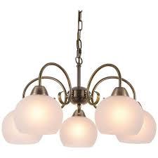 <b>Подвесная люстра Arte Lamp</b> MARGO A9317LM-5AB купить по ...