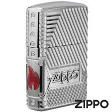 Зажигалка Zippo (Зиппо) Bolts Design Armor ... - ZIPPO-online.com