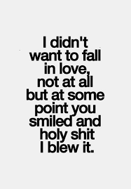 Silly Love Quotes Classy Interesting Silly Love Quotes About I Didn't Want To Fall Golfian
