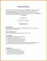 Example Of Good Resumes - Gcenmedia.com - Gcenmedia.com