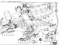 ferrari 246 gt series 1 > engine order online eurospares ferrari 246 gt series 1 engine lubrication diagram
