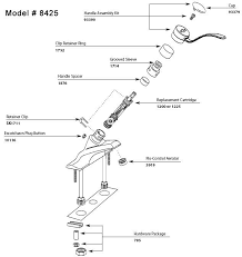 moen faucet leaking. Delighful Leaking Moen Single Handle Kitchen Faucet Repair Diagram  With Pullout For Leaking