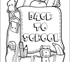 first school coloring pages back to for preschool welcome work free printable sunday pdf