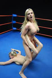 Womens naked wrestling video