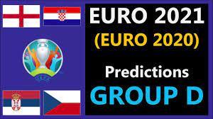 UEFA Euro 2021 (Euro 2020) Predictions - Group D: England, Croatia, Serbia,  Czech Republic - YouTube