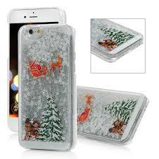 iPhone 6 Case, iPhone 6S Case, Shiny Stars <b>Christmas Tree</b> ...