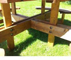 229 00 quantity great value excalibur commercial grade 8 round seater picnic table