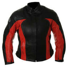 details about rk sports 3k red black las womens leather summer motorcycle motorbike jacket