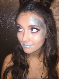 e jam alien makeup hair