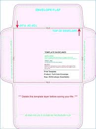 Envelope Template A2 Size Printing